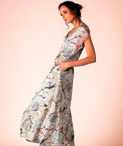 Picture of LONG DRESS AKIRA PINK